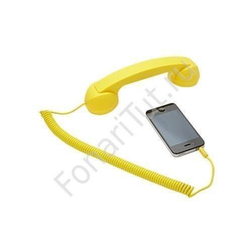 Трубка для телефона своими руками